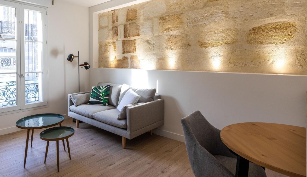 Appartement Bonnefin pièce de vie