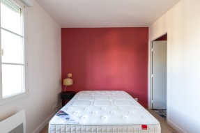 chbambre peinture rose terracotta