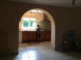 cuisine et ouverture avant