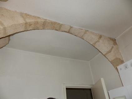 détails arche pierre
