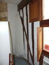 colombages avant rénovation