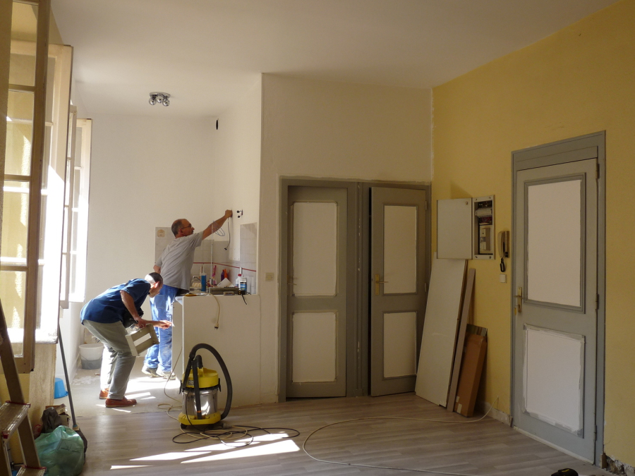 rénovation studio 30 m2