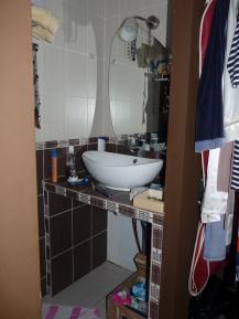 salle d'eau parentale avant home staging