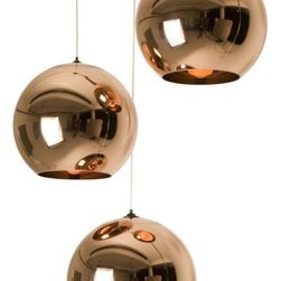 suspension Copper round Tom dixon
