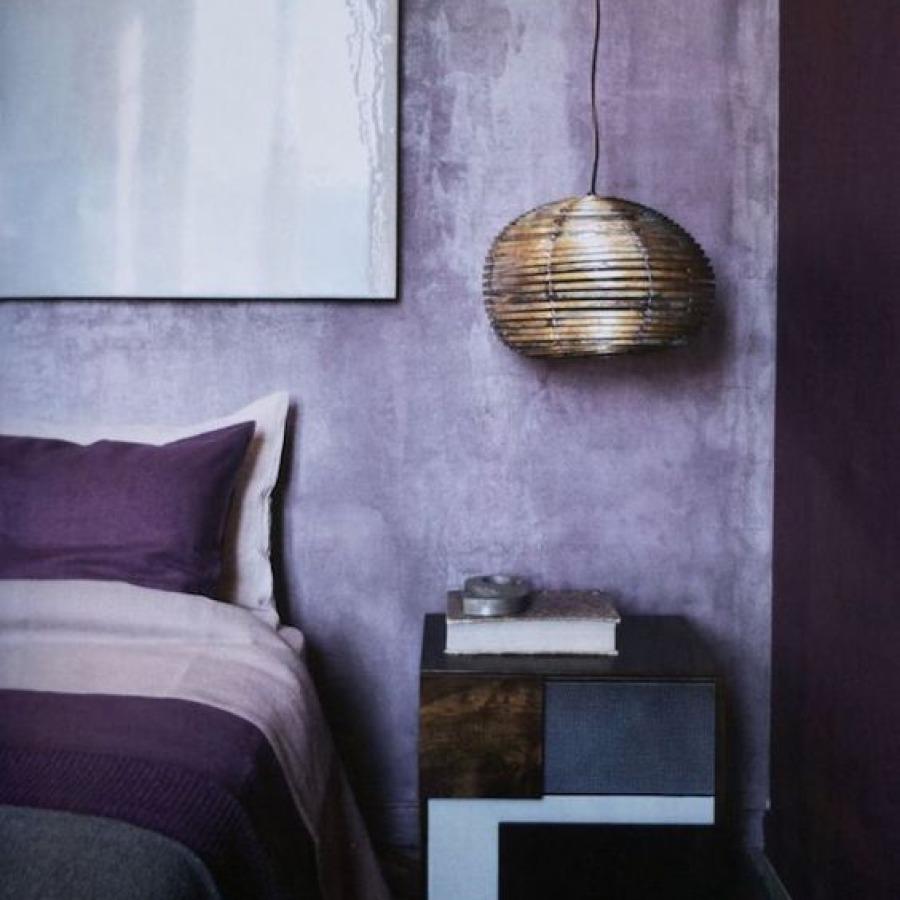 chambre ultra violet et mauve